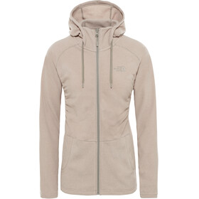The North Face Mezzaluna Full Zip Hoodie Women pink salt stripe